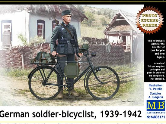 German Soldier Cyclist 1939 -1942