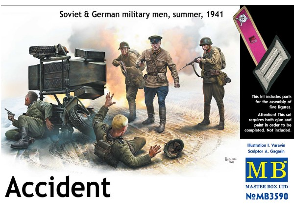 Accident -  Soviet and German Military, Summer 1941