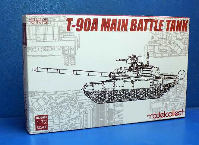 Model Collect 1/72 72001 Soviet T-90A Main Battle Tank (Welded Turret)