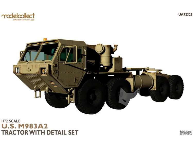 Model Collect U.S M983A2 Tractor with detail set