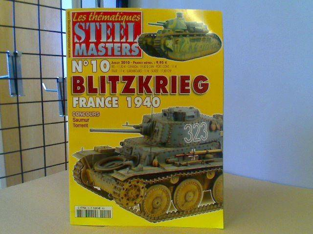 Steel Masters No10 - Blitzkrieg France 1940 (French Text)