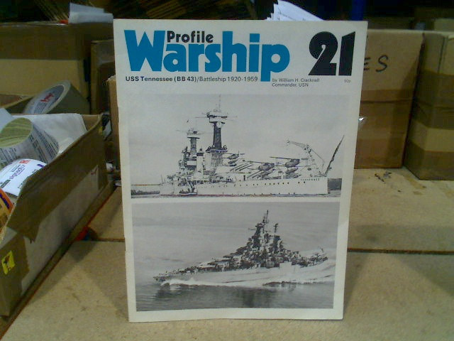 Warship Profile No21 - USS Tennessee