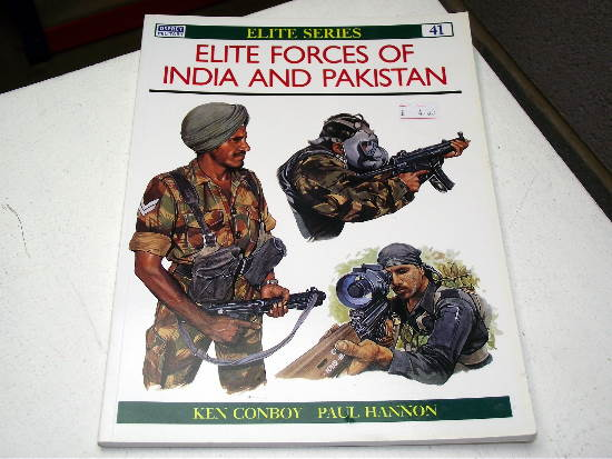 Osprey - Elite No41 - Elite Forces of India & Pakistan Date: 90's 41