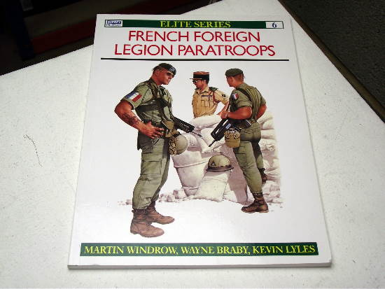 Osprey - Elite No6 -  French Foreign Legion Paratroops Date: 90's 6