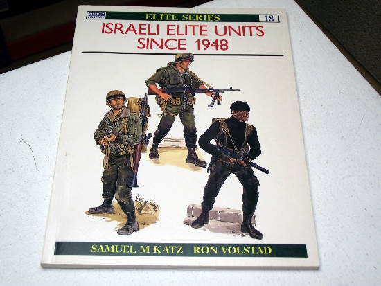 Osprey - Elite No18 -  Israeli Elite Units Since 1948 Date: 90's 18