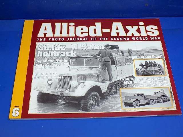 Ampersand - 6 Allied Axis Photo Journal No6 - Sd.Kfz.11 3 ton Half Track Date: 00's