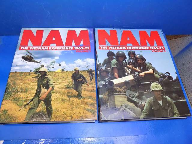 Books - - NAM - The Vietnam Exeprience Vol 1 and 2 - 19 Issue Part Works Date: 90's