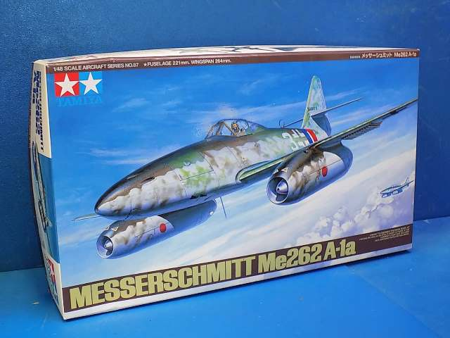Tamiya 1/48 61087 Me262 A-1A Date: 00's