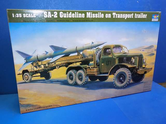 Trumpeter 1/35 00204 SA-2 Guideline Missile on Trailer Date: 00's