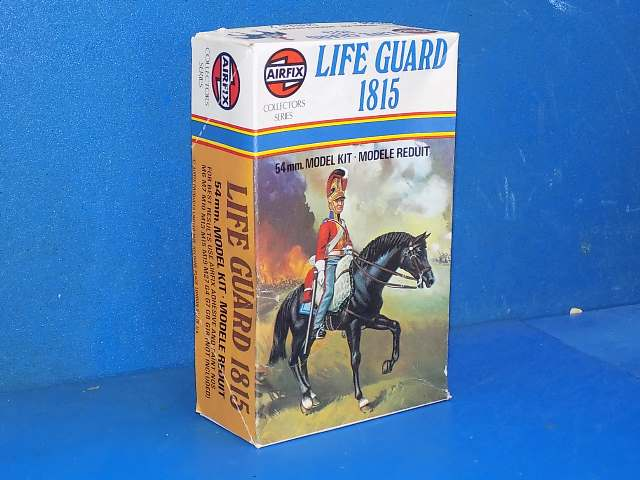 Airfix 54mm 02556 Life Guard 1815 Date: 1976