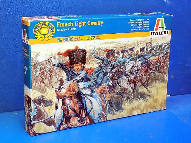 Italeri 1/72 6080 French Light Cavalry Date: 00's