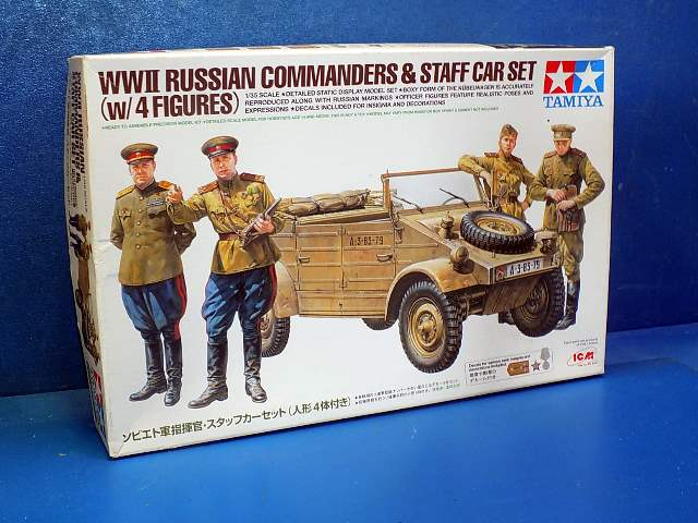 Tamiya 1/35 25153 WWII Russian Commanders and Staff Car Date: 00's