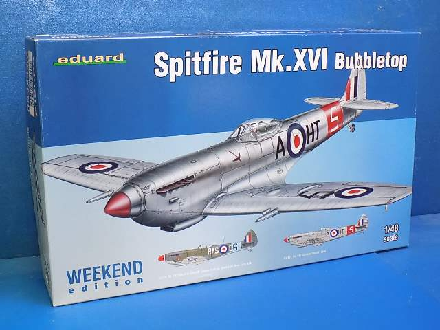 Eduard 1/48 84141 Spitfire Mk.XVI Bubbletop - Weekend Edition Date: 00's
