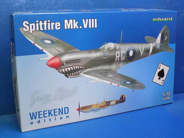 Eduard 1/72 7442 Spitfire Mk.XIII - Weekend Edition Date: 00's