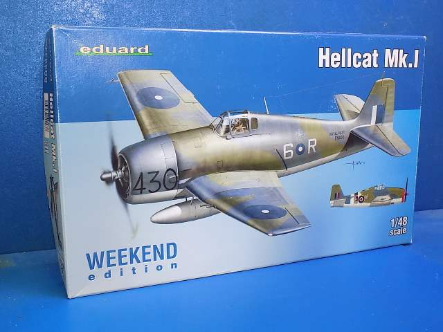 Eduard 1/48 8435 Hellcat Mk.I - Weekend Edition Date: 00's