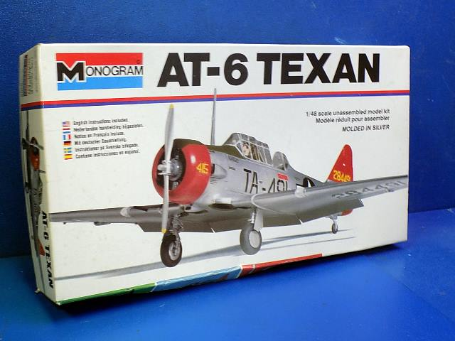 Monogram 1/48 536 AT-6 Texan Date: 70'S