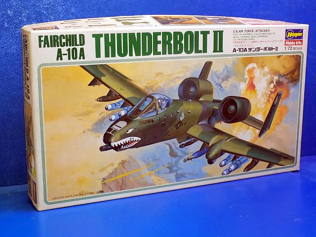 Hasegawa 1/72 K17 A-10A Thunderbolt Date: 80's
