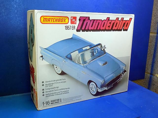 Matchbox 1/16 PK7509 Ford Thunderbird 1957 (Slight Damage_ Date: 1979