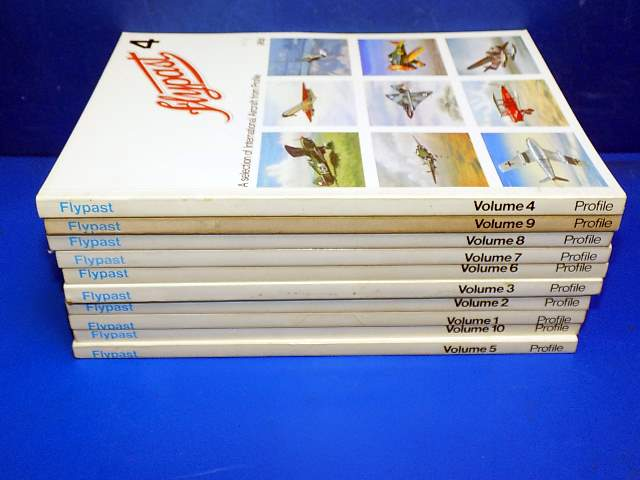 Profile Publications - - Flypast - Selection of Profile Publications - Vols 1 to 10 Date: 1970's