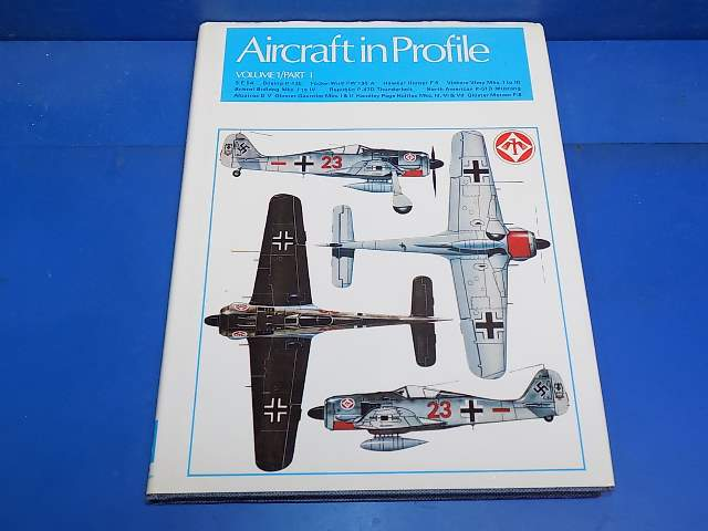 Books - - Aircraft In Profile Vol 1 Part 1 Date: 1970's