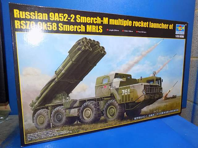 Trumpeter 1/35 01020 Russian 9A52-2 Smerch M Date: 80's