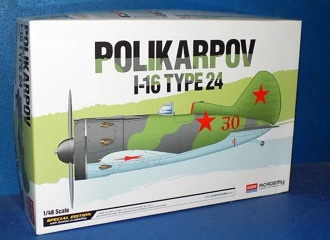 Academy Polikarpov I-16 Type 24 Speacial Plastic Model Kit 1//48 Aero Gift 12314