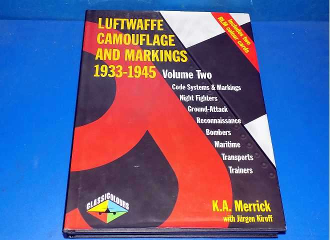 Luftwaffe Camouflage and Markings 1933-1945 Vol 2