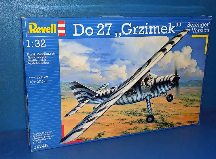Revell Do27 Grzimek Serengeti Version