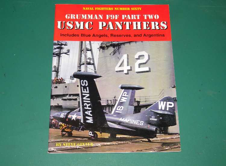 Naval Fighters No 60 - USMC F9F Panthers Part 2