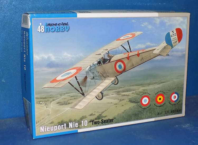 Special Hobby Nieuport Nie 10 Two Seater