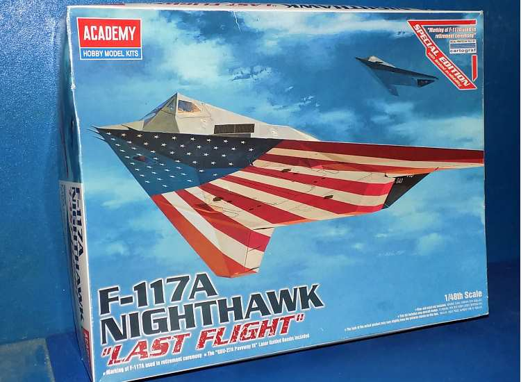 Academy F-117A Nighthawk Last Flight