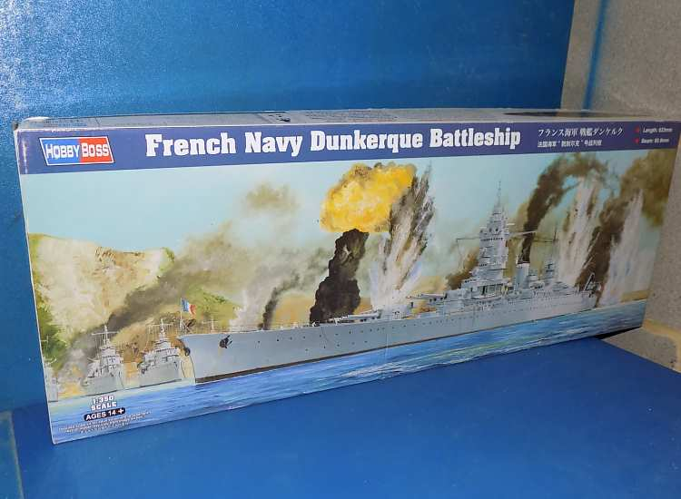 Hobbyboss Dunkerque - French Battleship
