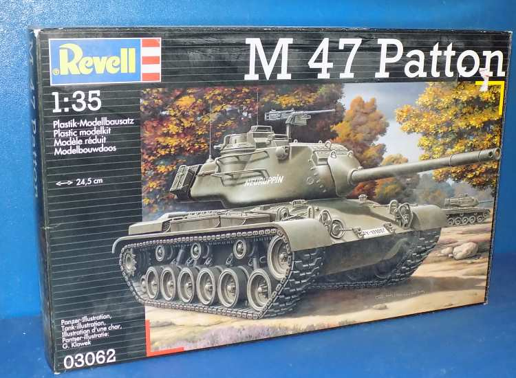 Revell M47 Patton