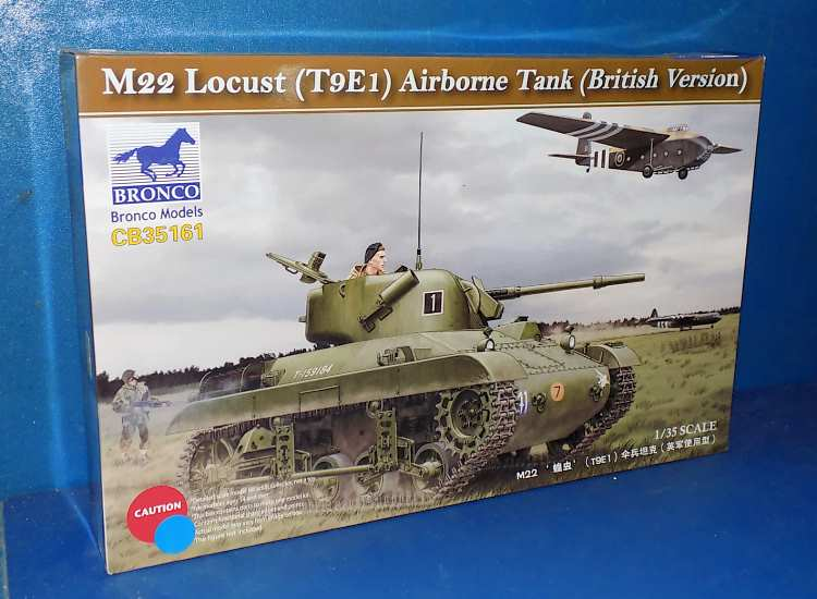 Bronco M2 Locust Airborne Tank (British Version)