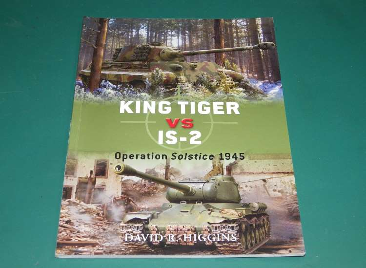 Osprey Duel 37 - King Tiger vs IS-2
