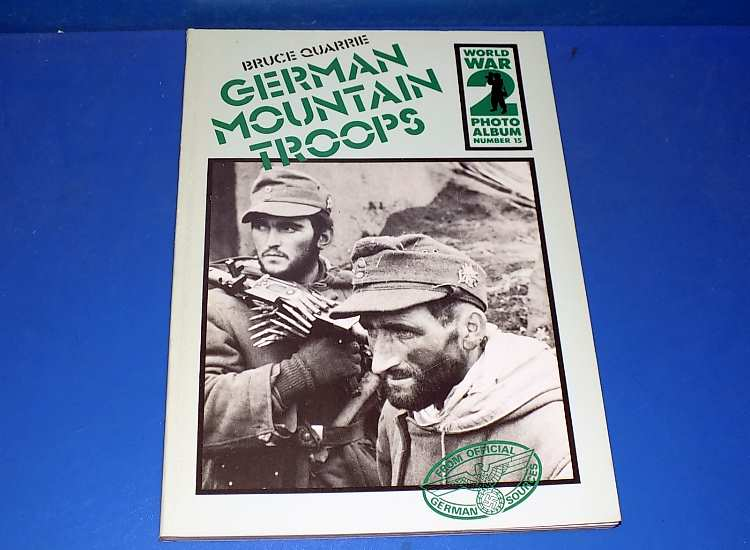 PSL Photo Album 15 - German Mountain Troops