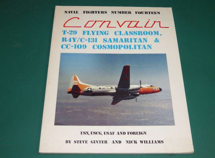 Naval Fighters No 14 - Convari Classroom, Samaritan and Cosmopoitan