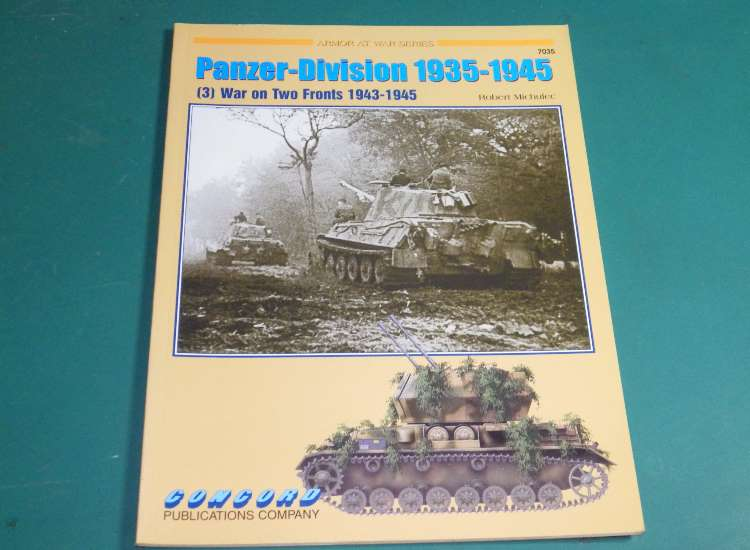 Concord 7035 - Panzer Division 1935-45 - (3) War On Two Fronts