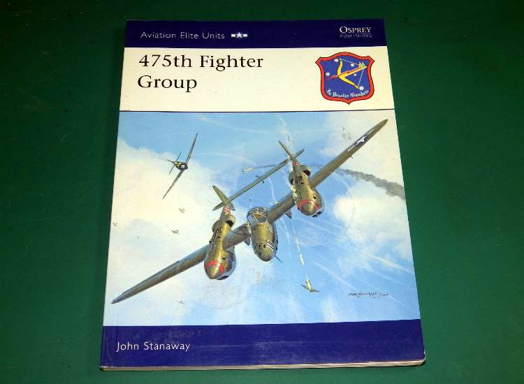 Osprey Aviation Elite 23 - 475th Fighter Group