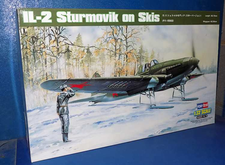 Hobbyboss IL-2 Sturmovik on Skis