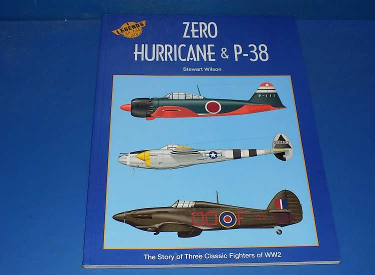 Books Legends of the Air 4 - Zero, Hurricane and P-38