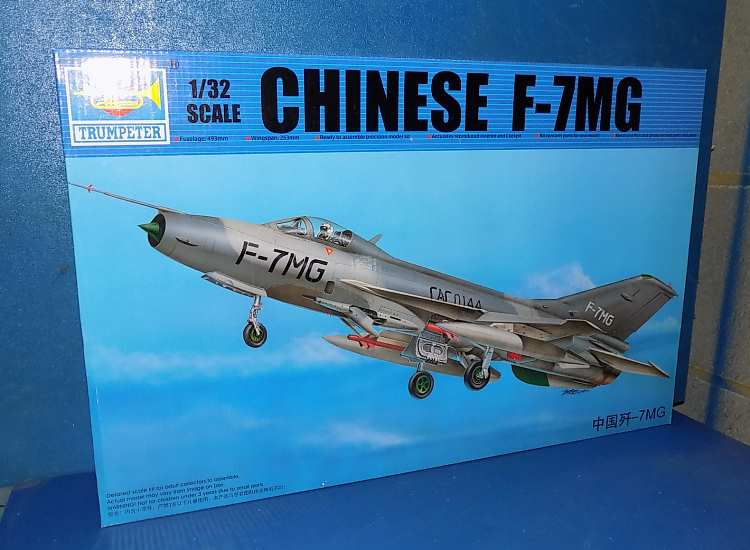 Trumpeter 1/32 02220 Chinese F-7MG Date: 00's