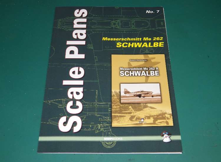 Scale Plans No 7 - Me262 Schwalbe 1/48 and 1/32