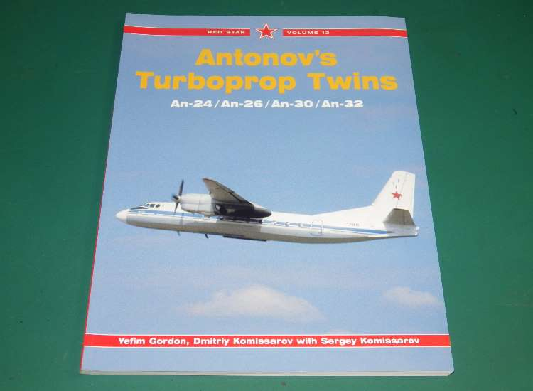 Red Star 12 - Antonov's Turboprop Twins