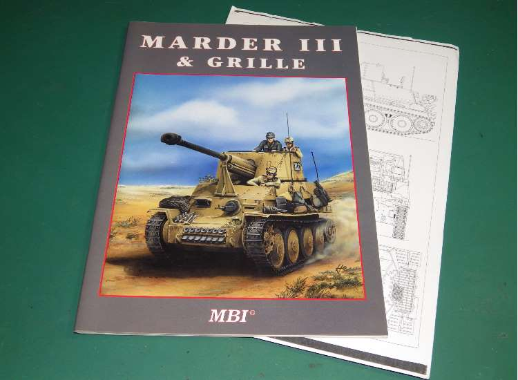 Kagero - - MBI - Marder III and Grille Date: 1999