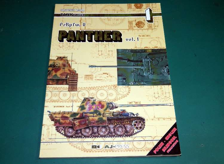 AJ Press Tank Power 1 - Pz.Kpfw.V Panther Vol 1