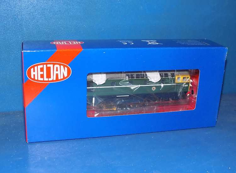 Heljan 00 34141 BR Class 33 D6570 Green with full yellow ends - Early Version Date: 00's