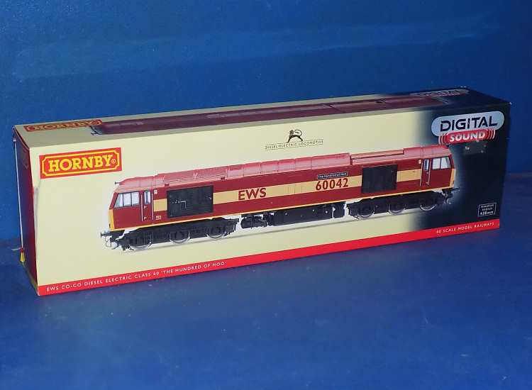 Hornby 00 R2899XS Class 60 Locomotive '60042' The Hundred of Hoo Date: 00's