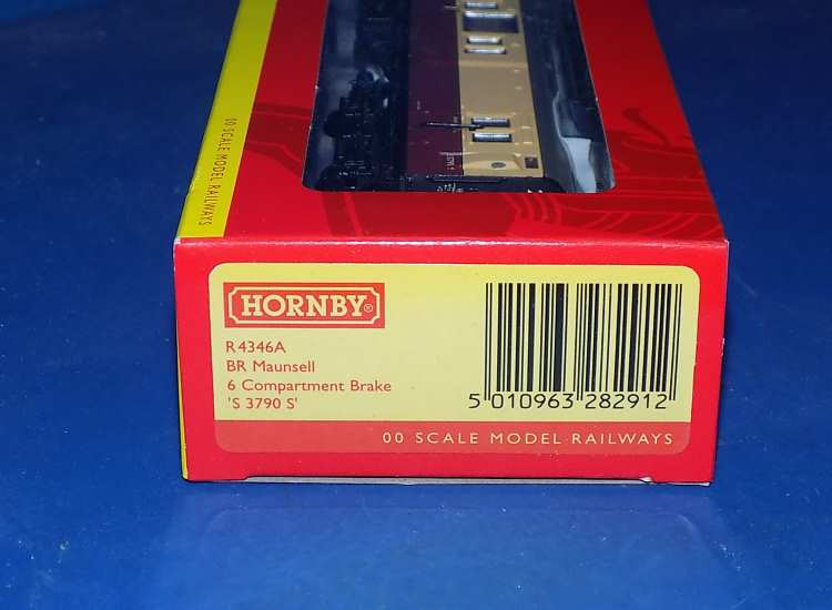 Hornby 00 R4346A BR Maunsell 6 Compartment Brake Coach 'S 3790 S' Date: 00's