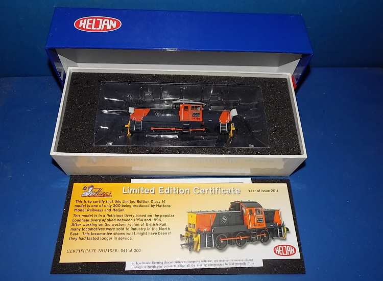 Class 14 'Teddy Bear' 14701 Load Haul. Limited Edition of 200